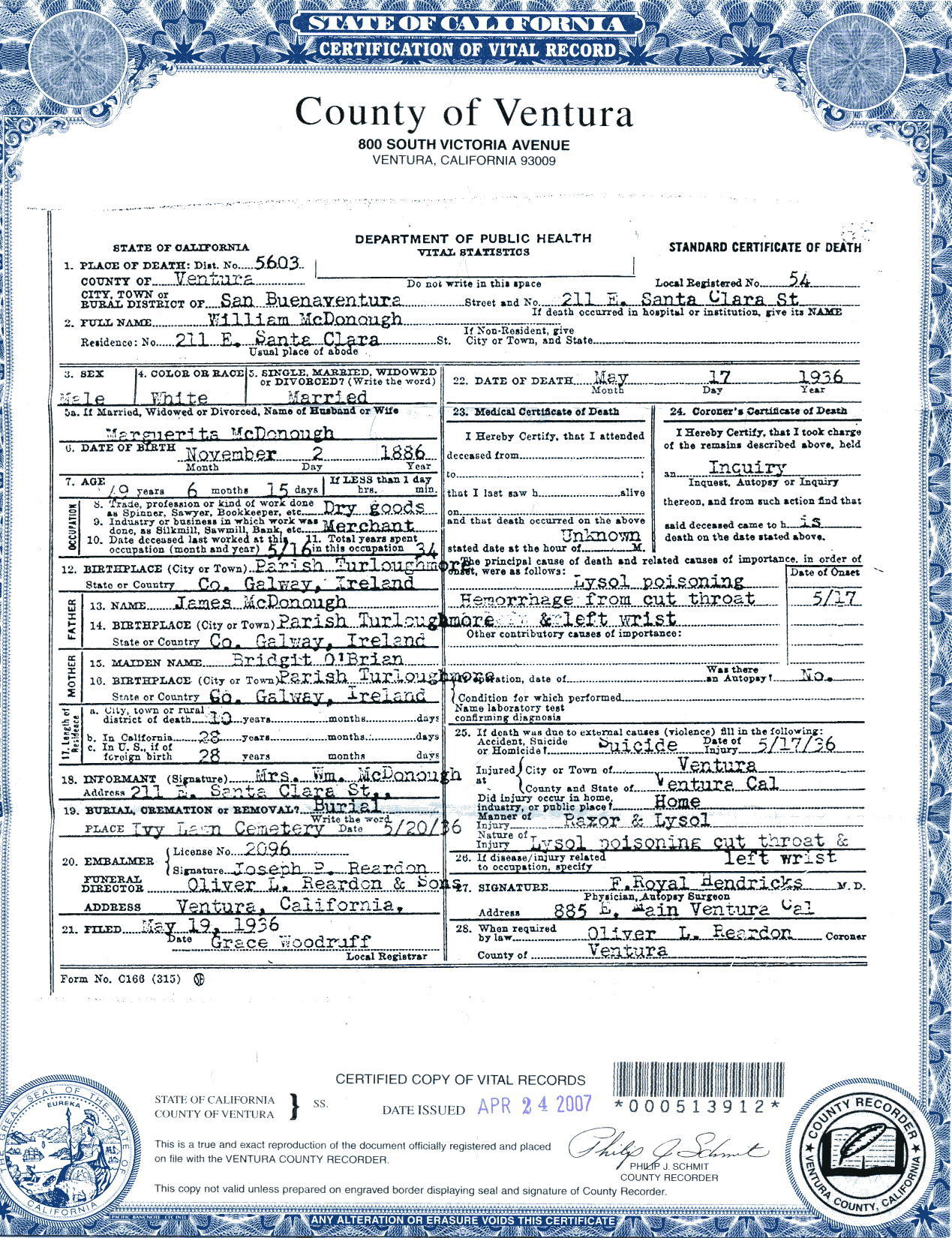 Index of timmcdonough reguin family moms dads death ce yelopaper Image collections